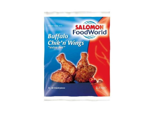 Chicken Wings Buffalo extra hot | TK | Preis je Pack 2,5 kg